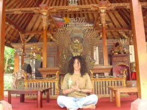 It's me, once upon a time in Bali