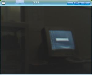 Xawtv menampilkan gambar dari webcam