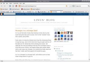 Linus' Blog