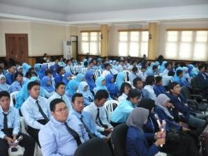 Para peserta SFD yang merupakan mahasiswa baru