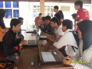 Persiapan peserta