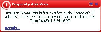 NetAPI buffer oveflow