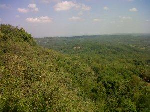 Pemandangan Gunung Geger