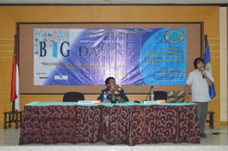 Pemateri ke-2 seminar Big Data